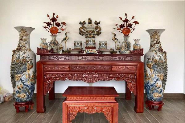 Mẫu bàn thờ gia tiên