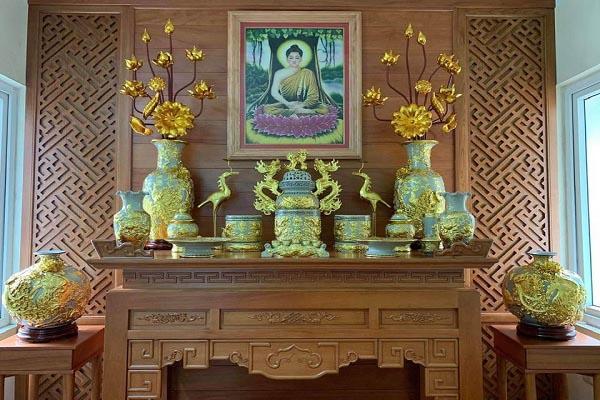 bàn thờ phật dành cho tuổi mùi