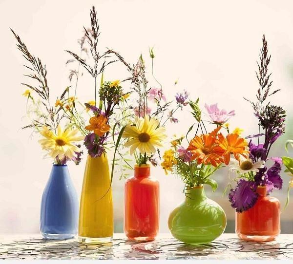 bình cấm hoa