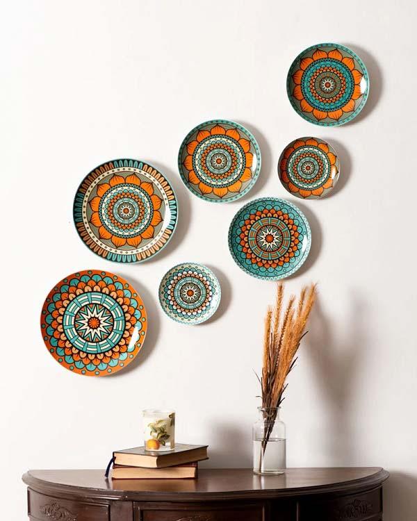 trang trí nội thất bằng gốm sứ